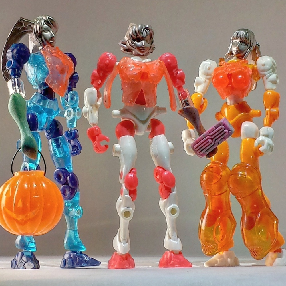 Bandai Beta Mutants - females