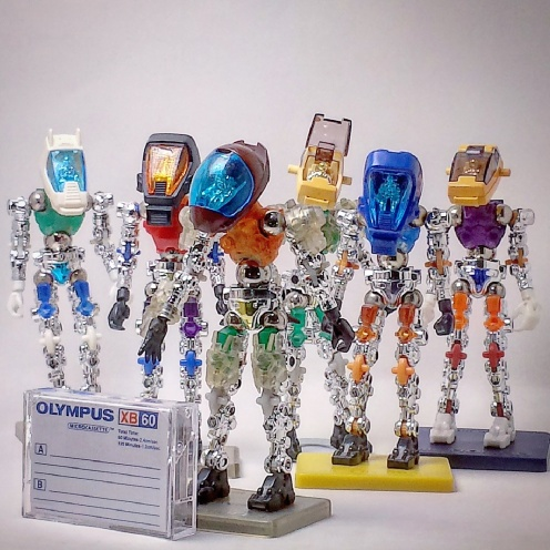 PhantomoshPhantomoshop custom figures and toys ©2017op Micro-customs